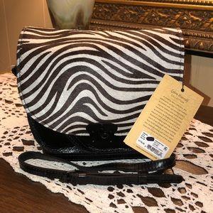 Patricia Nash Bettina Saddle Crossbody Bag